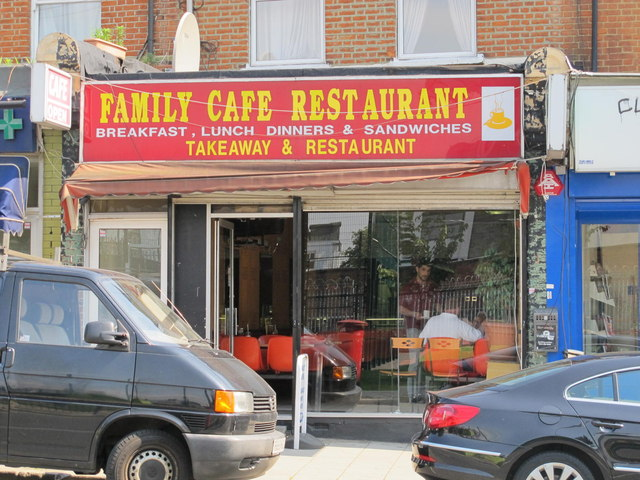Family Cafe Restaurant, Willesden Lane, NW6