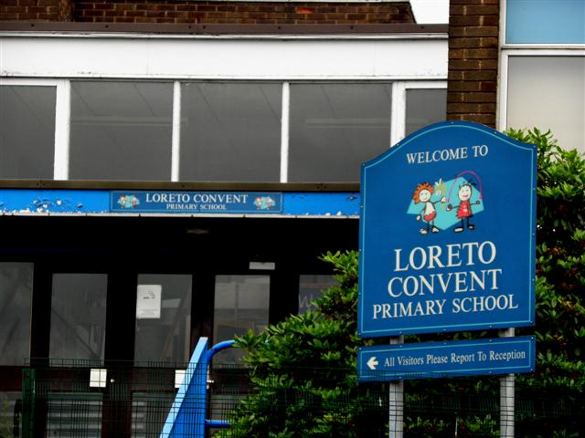 Loreto Convent Primary sign