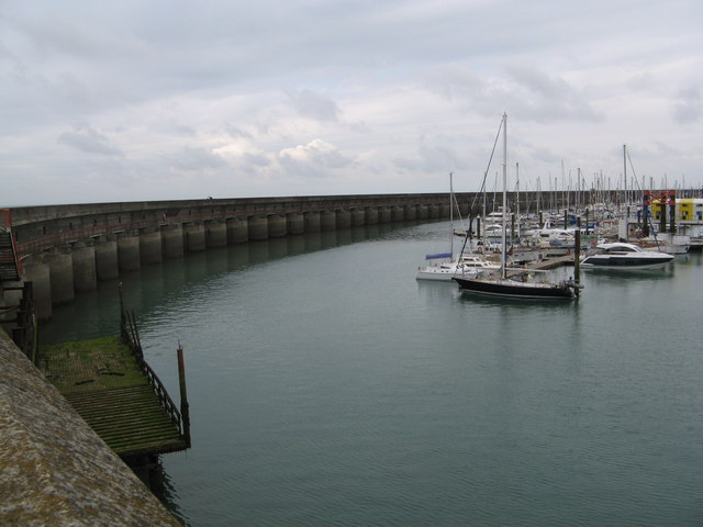 East end of Brighton Marina