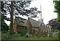 TQ1471 : St James, St James Road, Hampton Hill by John Salmon