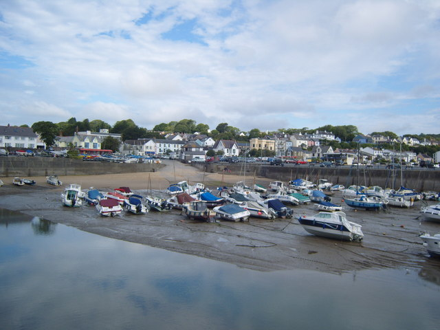 Low tide