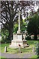 TQ1471 : St James, St James Road, Hampton Hill - War Memorial by John Salmon