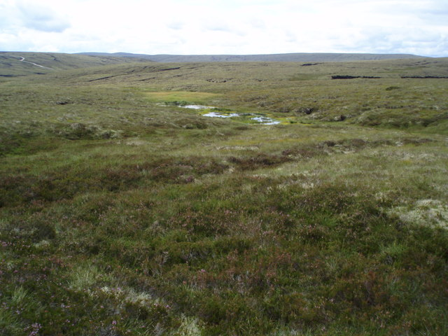 Watershed for Allt Loisgle