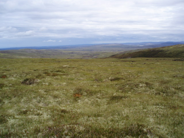 Looking NW from Sgoran Liath