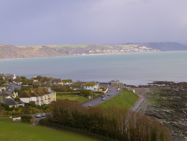 Hannafore and part of the beach