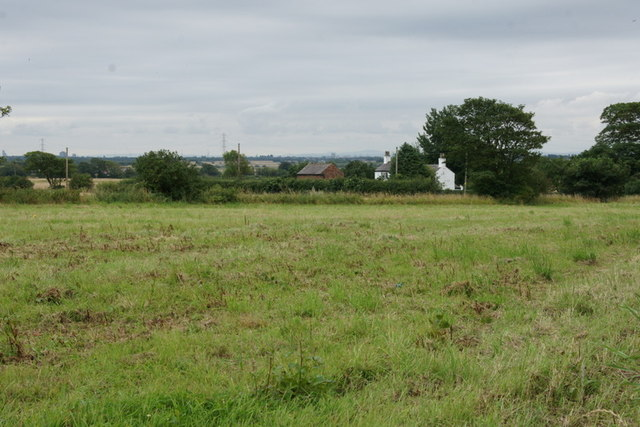 Fields beside Station Road, Lydiate