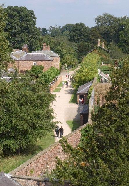 Entrance area, Beningbrough Hall