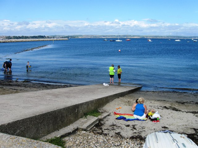 Slipway, Portland harbour