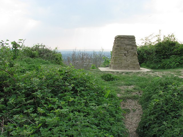 Built over triangulation pillar