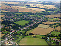 TL4917 : Little Hallingbury from the air by Thomas Nugent