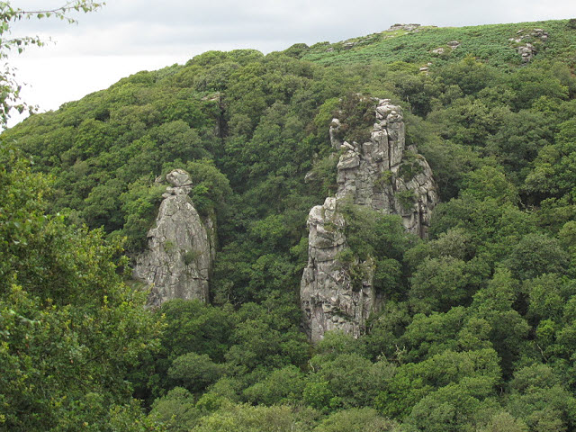 View across to the Dewerstone