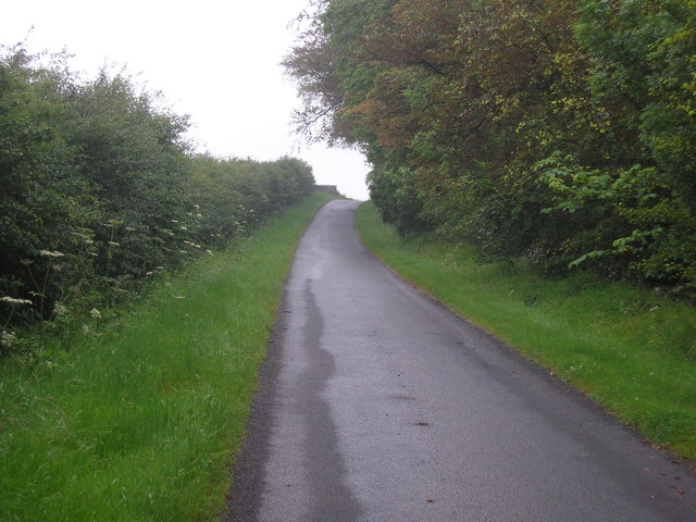 Private road in Balcarres Estate