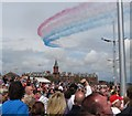 J3731 : The Red Arrows thrilling the throng on Newcastle's Promenade : Week 32