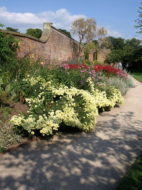 Main Border, Beningbrough Hall gardens