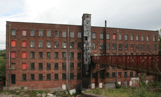 Big Mill, the old building