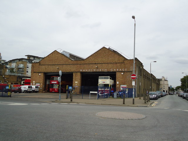 Wandsworth bus garage