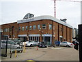TQ2675 : Mercedes-Benz Chelsea Service Centre, Jews Row, Wandsworth by Stacey Harris