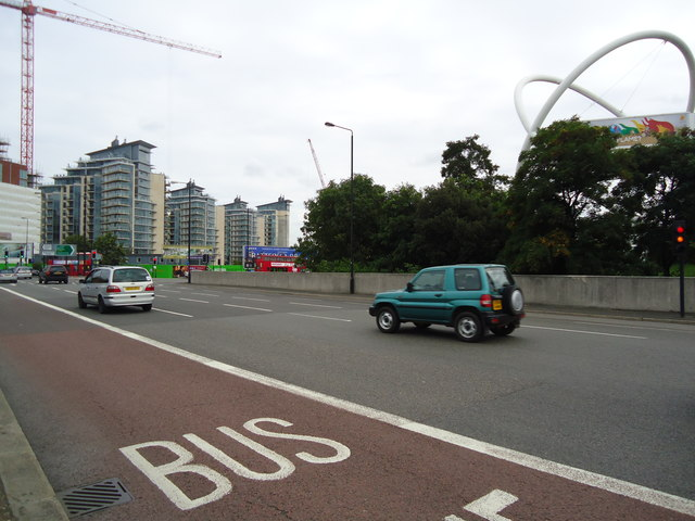 York Road roundabout, Wandsworth