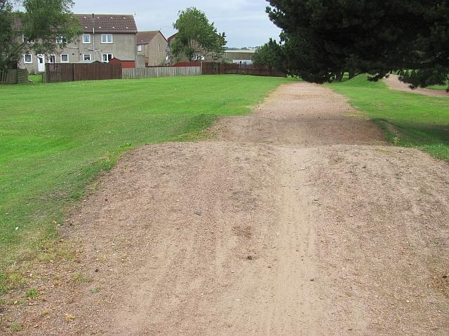 BMX track, Lundin