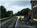 SJ3377 : Hadlow Road station by Colin Pyle