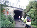 SJ3177 : Wirral Way underpass by Colin Pyle
