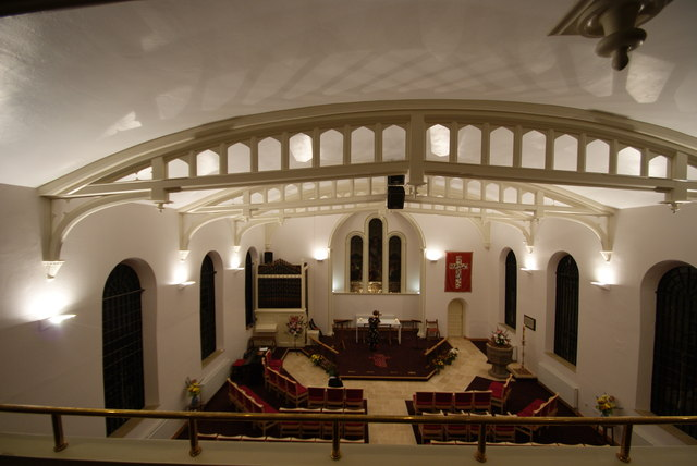 St Peter's church interior in November 2010