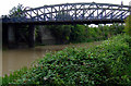 ST5971 : Railway bridge over the River Avon by Thomas Nugent