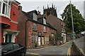 SJ9856 : 3,4,&amp; 5 Clerk Bank, Leek by Alan Murray-Rust