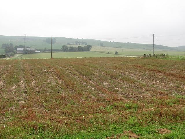 Fields near Mains of Newton, Laurencekirk