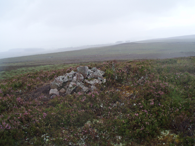 Summit cairn, Hill of Slackmore