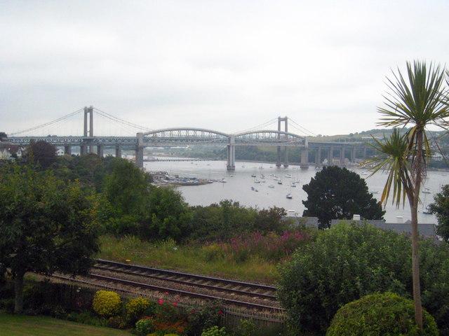 The Tamar bridges