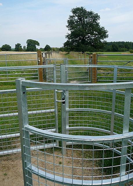 Kissing gates in profusion