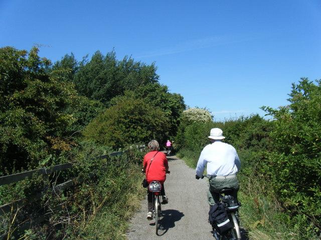 Wirral Way near Caldy