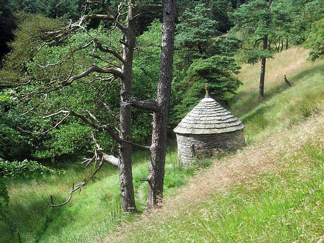 Shrine on the hillside