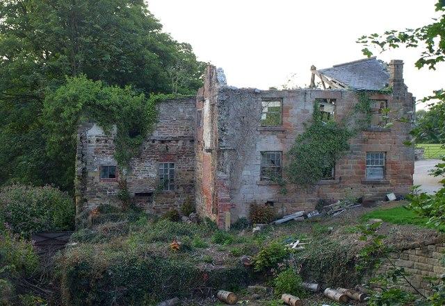 Derelict building, Goldsborough Mill