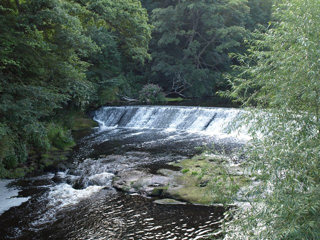 Weir on the Nidd