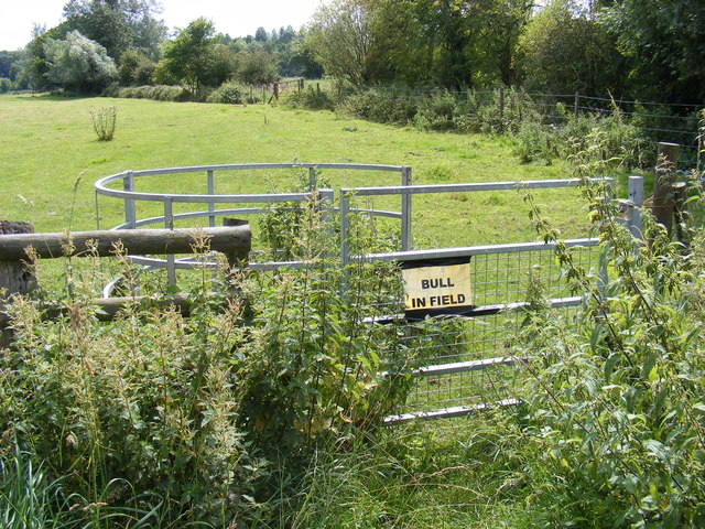 Kissing Gate of Footpath to Lodge Road & Holly Lane
