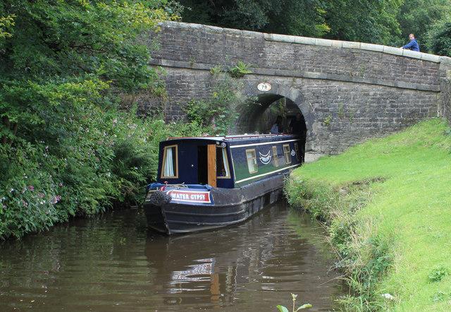 Halls Lock. Huddersfield Canal, Greenfield