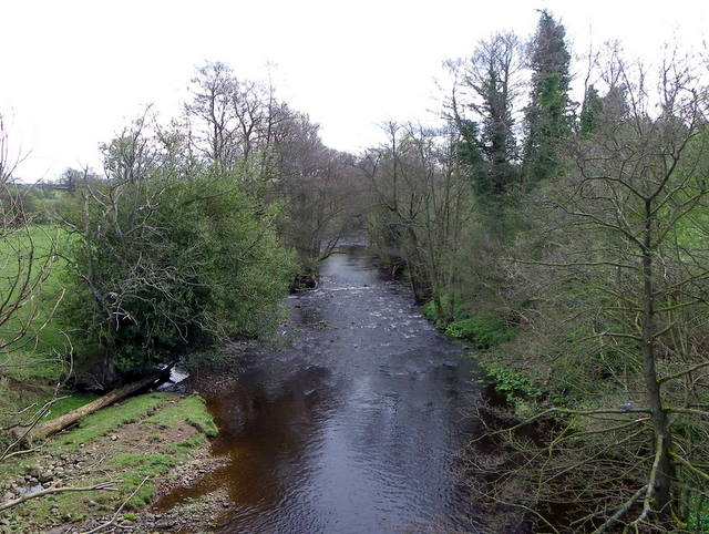 River Burn, Swinton