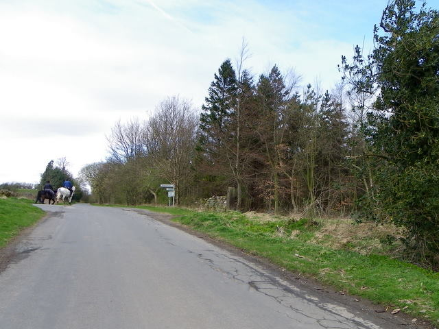Road junction near Ilton