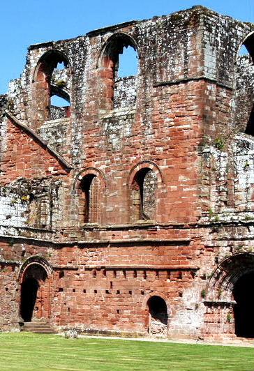 Ruins of Furness Abbey, Cumbria