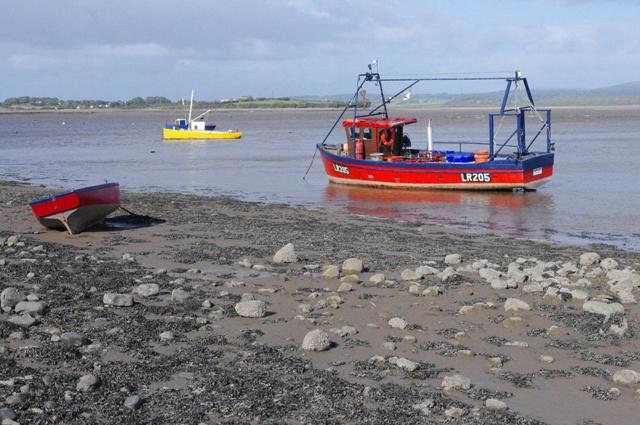 Fishing boats at Sunderland