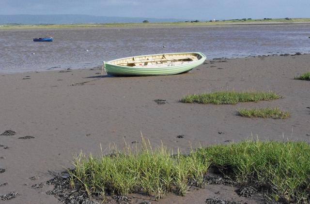Wooden boat at Sunderland