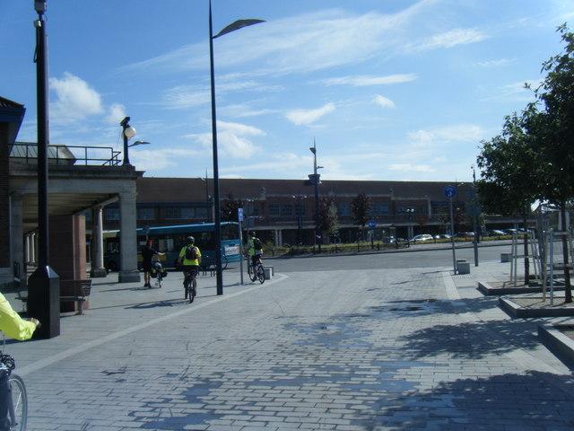 Seacombe Promenade at Seacombe Ferry Terminal