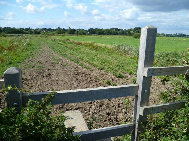 Path by the Arun near Bury