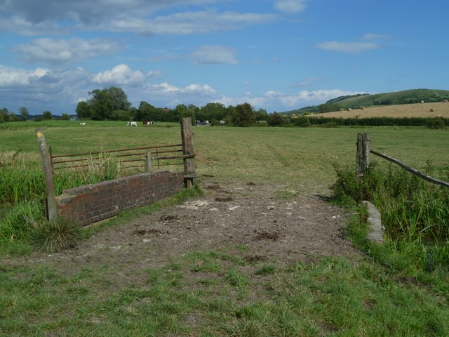 Footpath from the River Arun to Amberley