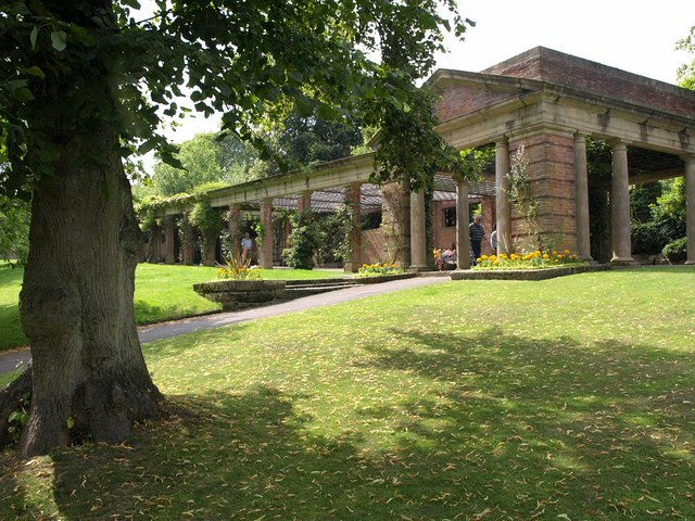 Colonnade, Valley Gardens, Harrogate