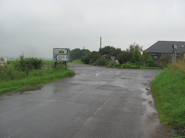Crossroads on the A937