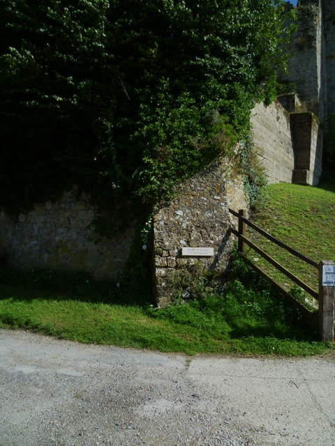 Buttress of Amberley Castle
