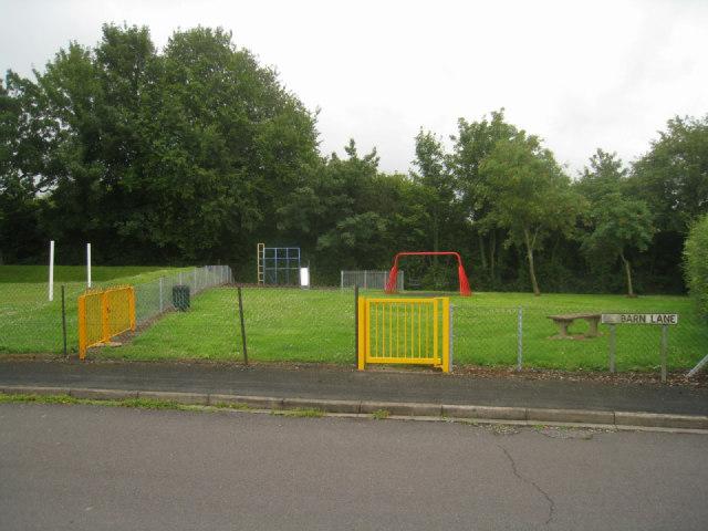 Small play area - Barn Lane